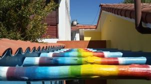 Lugar lleno de color